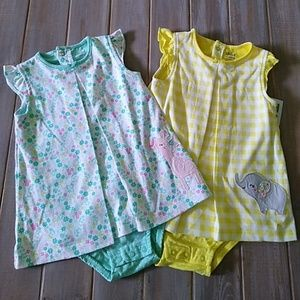 Two 24 month old dresses